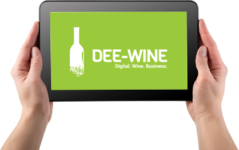 Digital Wine Marketing - Dee-Wine on iPad image